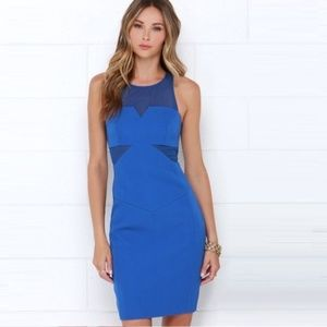 NWT! Finders Keepers Cobalt blue cocktail …